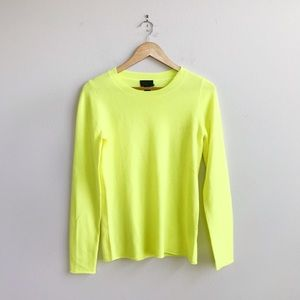 J. Crew Collection : Neon Cashmere Top Small